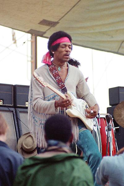 009 Jimi Hendrix Art | Cunningham Gallery