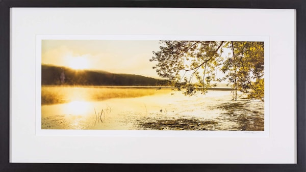 Golden Sunrise   Guilford Library Exhibit Photography Art | Peter Wnek Photography