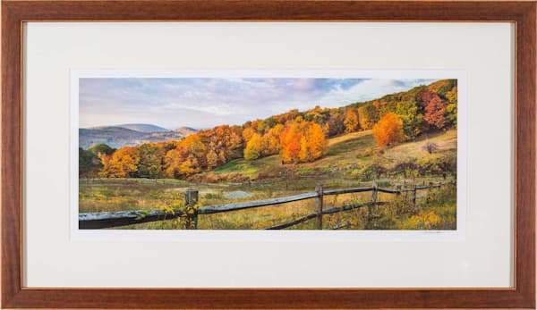Litchfield Hill in Autumn - Guilford Library Exhibit