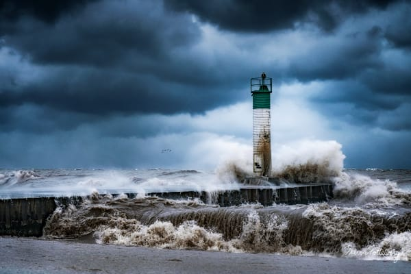 December Storm Photography Art | Trevor Pottelberg Photography