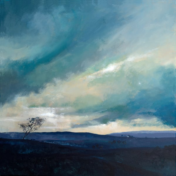 Yorkshire Moors Art Print / Denise Di Battista