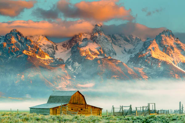 Grand Teton Mountains Nature Wall Art Prints | Robbie George