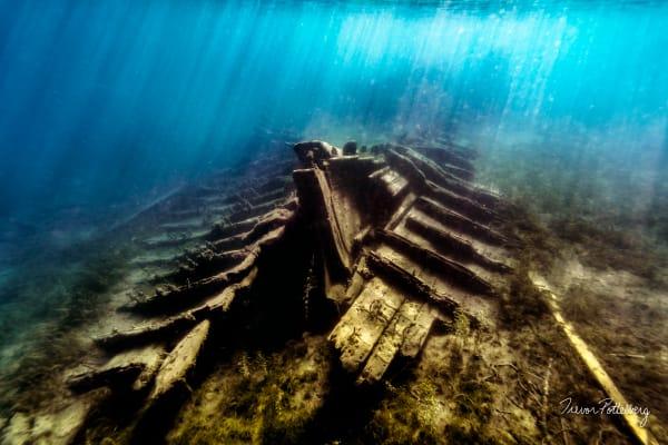 Skeleton Ship Photography Art   Trevor Pottelberg Photography
