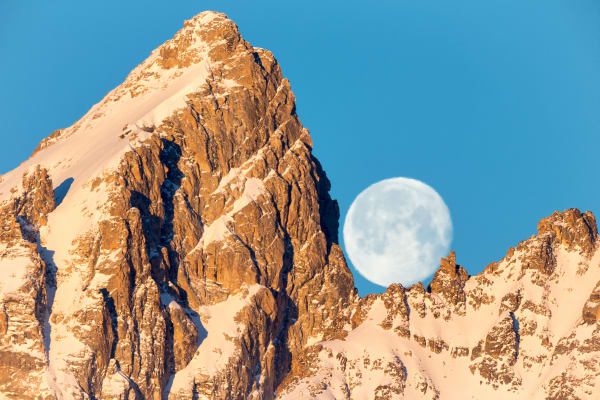 Supermoon Photography Nature Prints | Robbie George