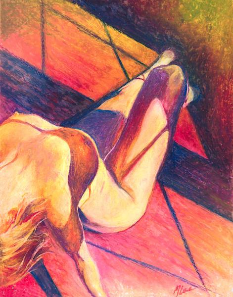 Shadows On Fire Art | Michelle Lee Arts