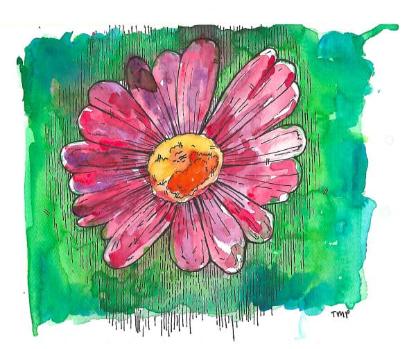 Matt Pierson Artworks | Red Orange Flower