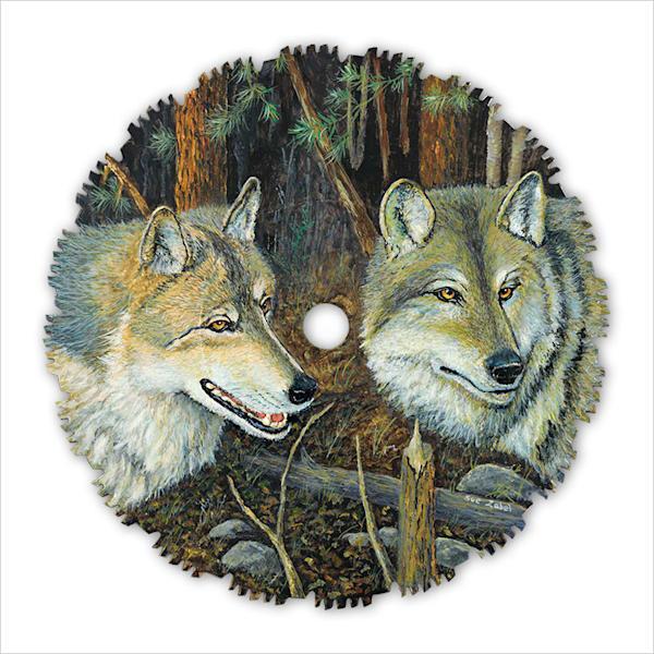 """""""Night Wolves"""" fine art print by Sue Zabel."""