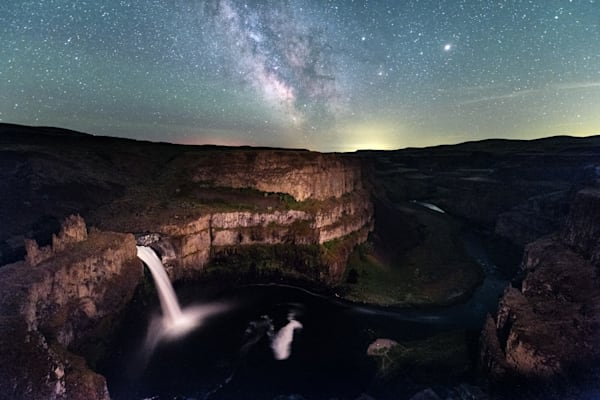 Milky Way Palouse Falls