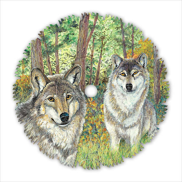 """Early Fall Wolves"" fine art print by Sue Zabel."