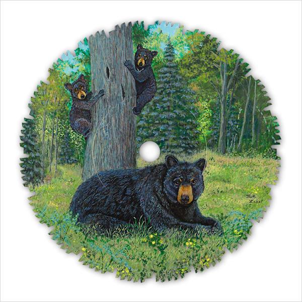 """""""Bear's Forest Lookout"""" fine art print by Sue Zabel."""