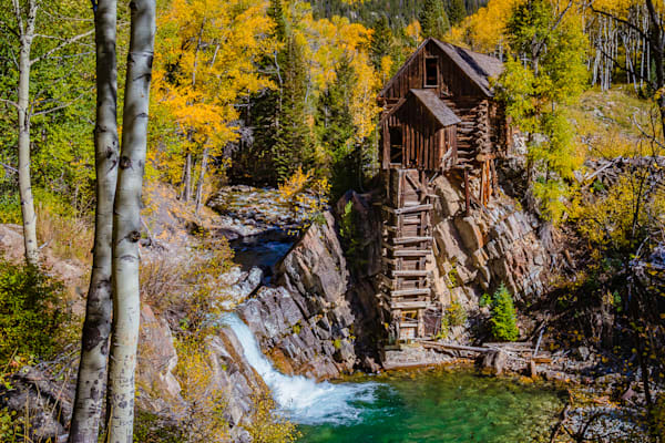 Crystal Mill - The Old Mill Photo Print