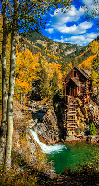 Crystal Mill -The Old Mill Pano