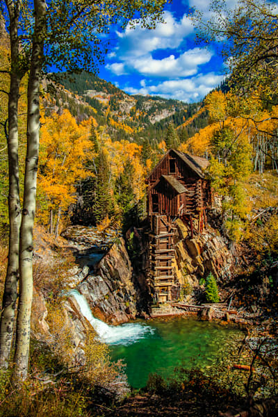 Crystal Mill - The Old Mill V Photo Print