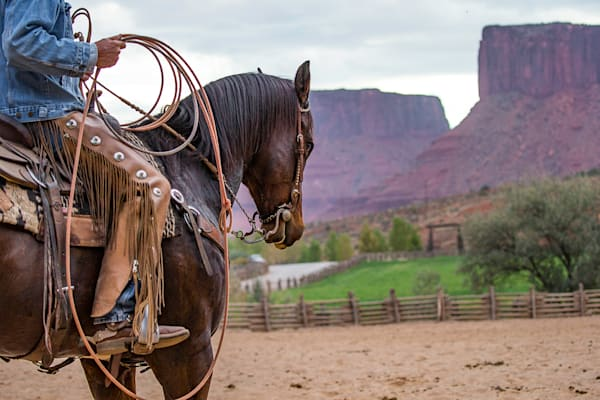 Ready to Rope Photo Print