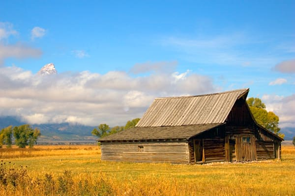 Tetons - Morman Barn