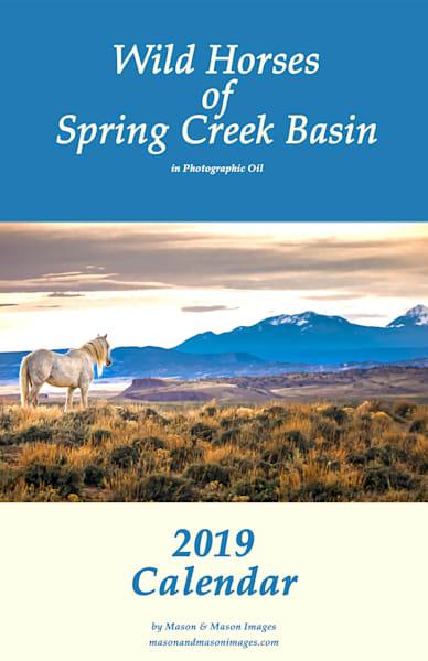 Wild-Horses of Spring Creek Basin - Mason and Mason Images