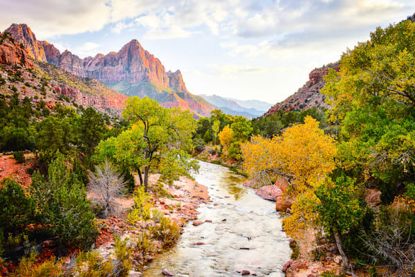 Zion - Watchman H Photo Print