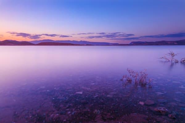 Lake Pleasant Sunset Fine Art Print