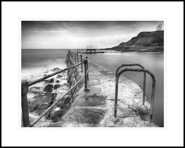 09  La Valette Bathing Pool Steps Rectangular Art | Roy Fraser Photographer