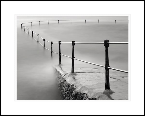 17  La Valette Bathing Pool Railings Art | Roy Fraser Photographer