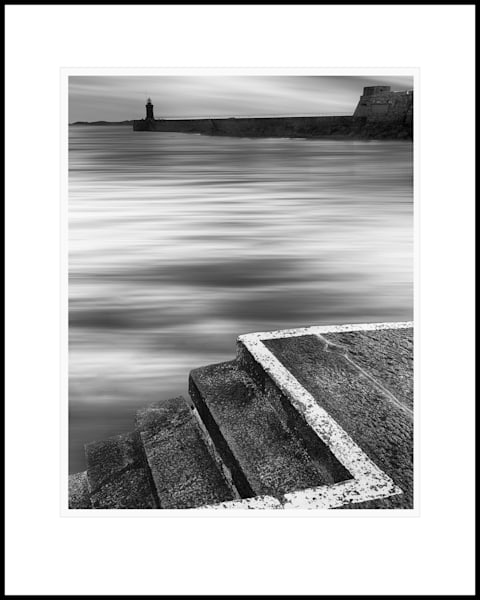 24 St Peter Port Harbour Steps Art | Roy Fraser Photographer