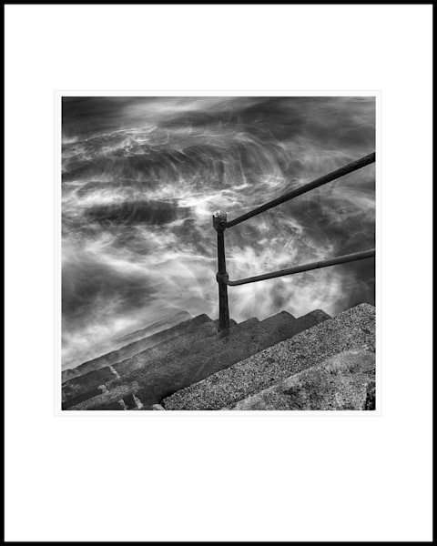 34 Steps To Water Square Art   Roy Fraser Photographer