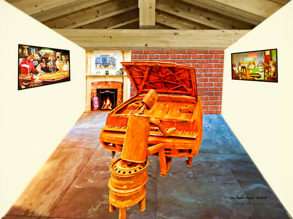 The Piano Player - The Gallery Wrap Store