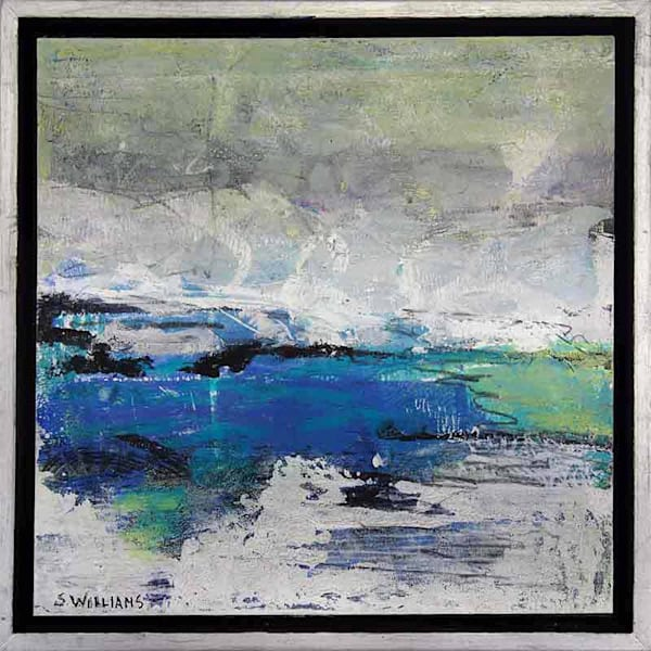 Abstract Horizon Originals - a series of paintings by Shirley Williams