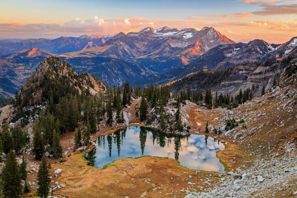 sunset at silver glance lake