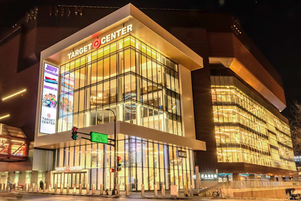 Target Center 2 - Minneapolis Cityscape Art | William Drew