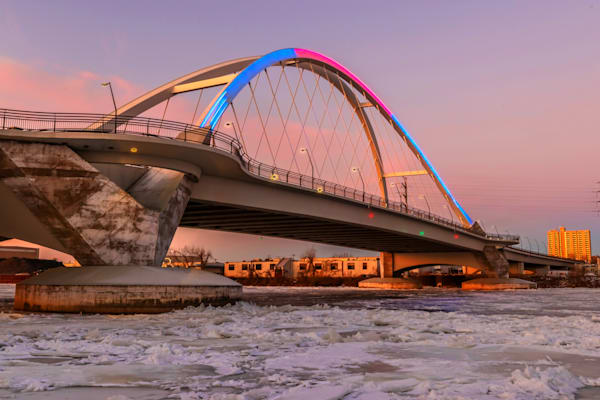Colorful Lowry Morning - Minneapolis Photographs | William Drew