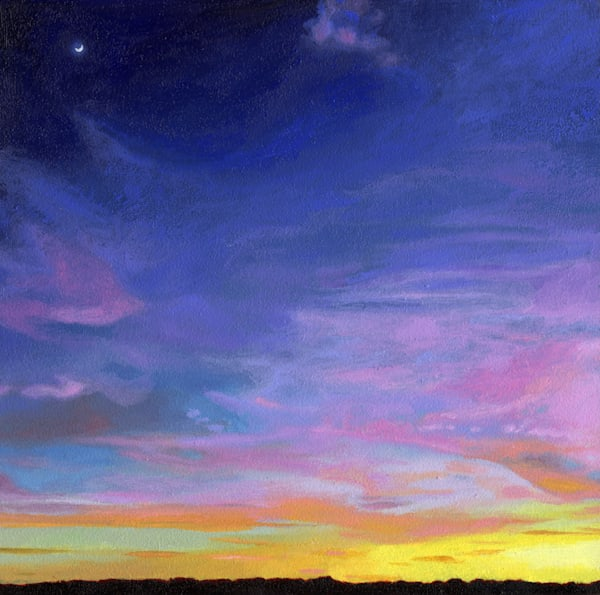Gradient, Nature Paintings, The Art of Max Voss-Nester