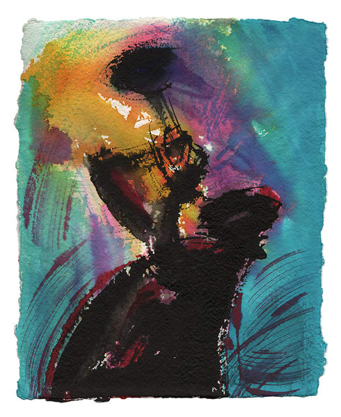 Trumpet Player Art | Digital Arts Studio / Fine Art Marketplace