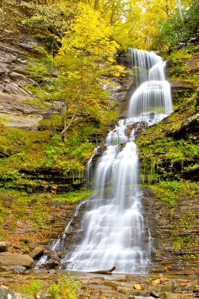 Cathedral Falls Vermont | Art By Smiths - Luscious Landscape Photography