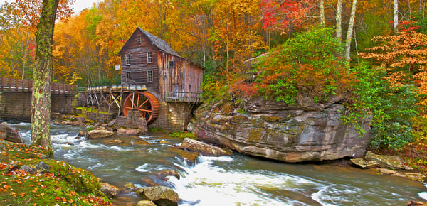 Grist Mill Falls | Art By Smiths - Luscious Landscape Photography