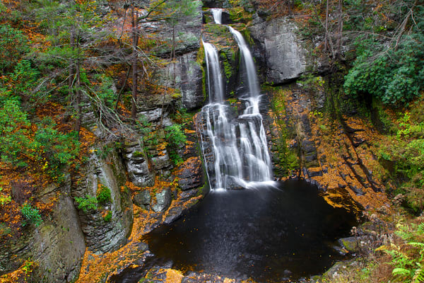 Bushkill Falls Mountain | Luscious Landscapes and Special Scenery - Art By Smiths