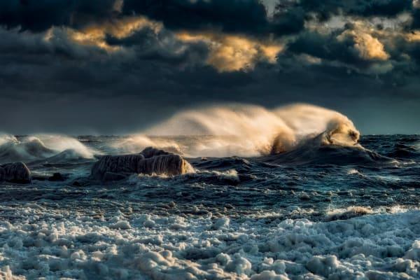 Frozen Surf Photography Art   Trevor Pottelberg Photography