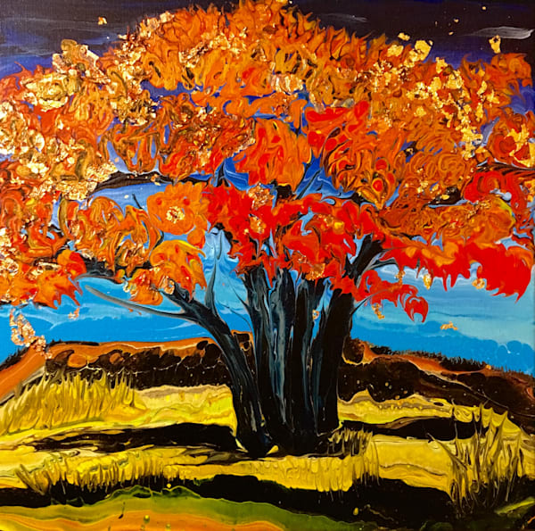 Red Gold tree