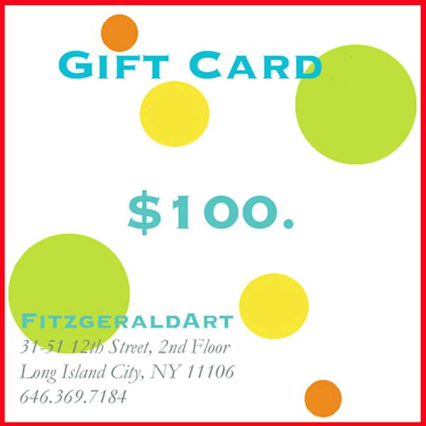 $100 Gift Card | FitzgeraldArt