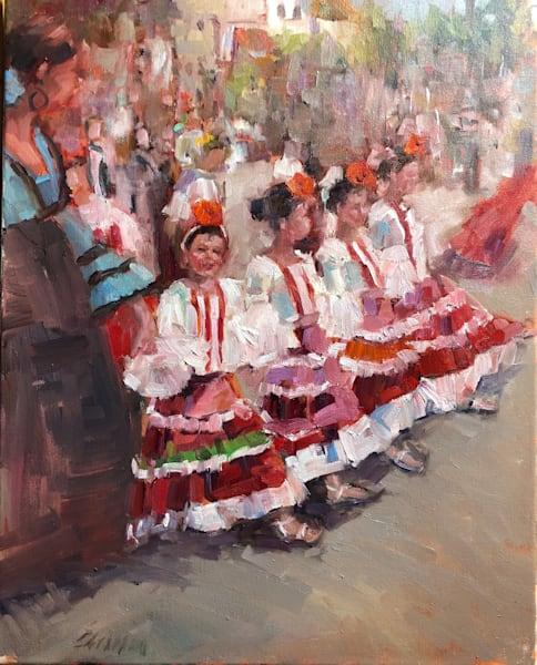Santa Barbara Festival 16x20