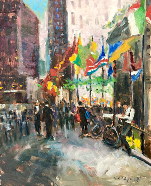 Rockefeller Center New York | 16x20
