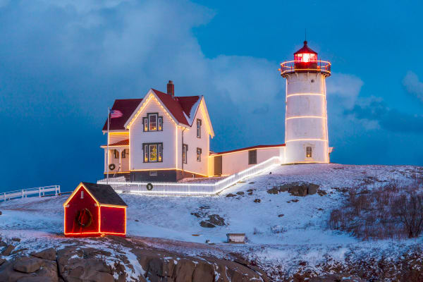 Nubble Lighthouse | Robbie George Photography