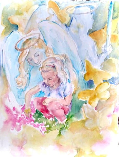 Lilah Guardian Angel Soul Essence Portrait