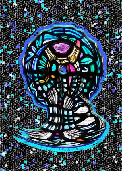 St Mungo's Feet print of photograph for sale as digital art by Maureen Wilks