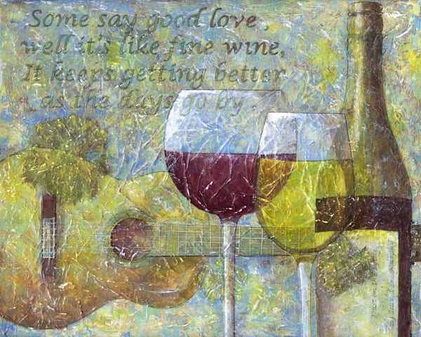 Beautiful wine art paintings that will grace your walls or your wine cellar