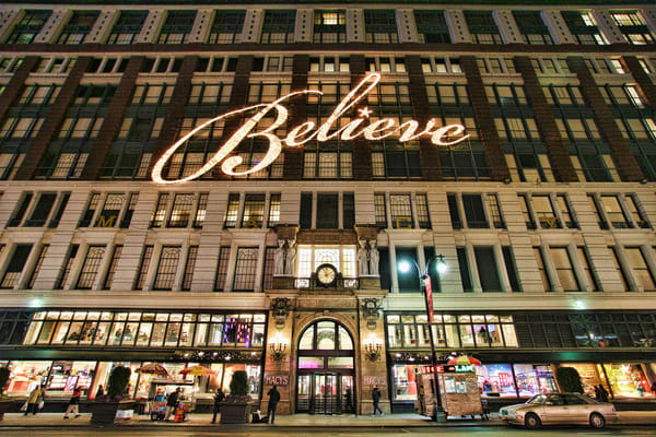 Macy's Believe - Prints