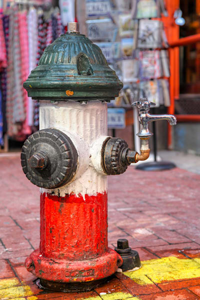 Fire Hydrant in Little Italy - Prints