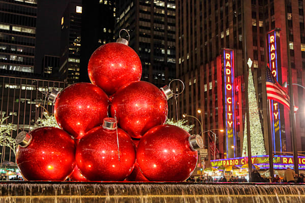 Giant Christmas Ornaments 1 - Prints
