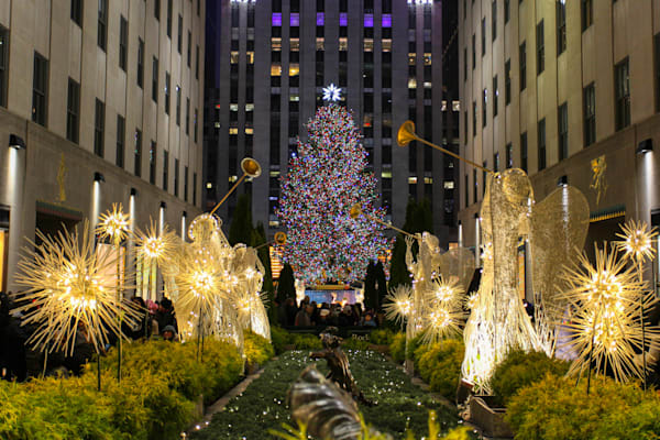 Rockefeller Center Tree - Prints