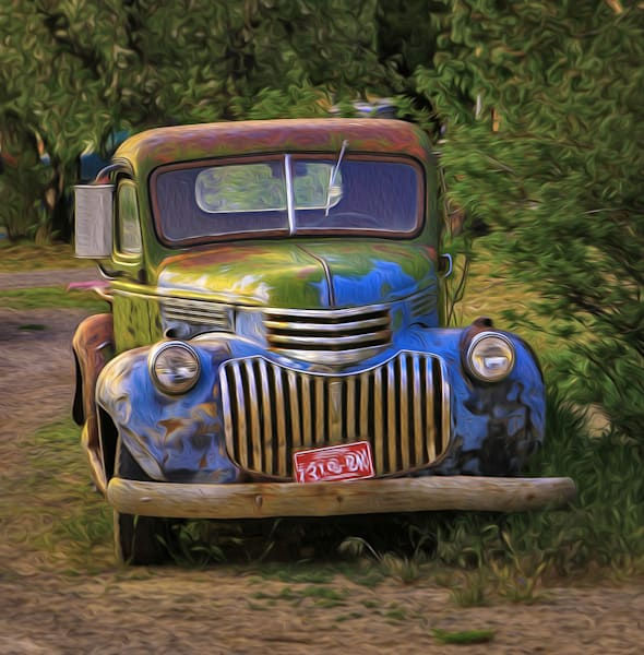 Old Trucks - shop art/Masonandmasonimages.com
